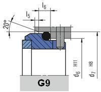 Неподвижное кольцо G9