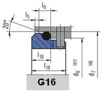 Неподвижное кольцо G16