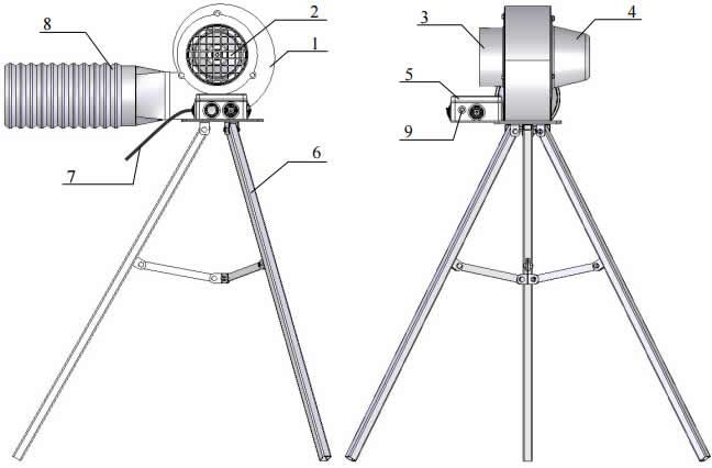 вытяжка-вентилятор ВСП-500М